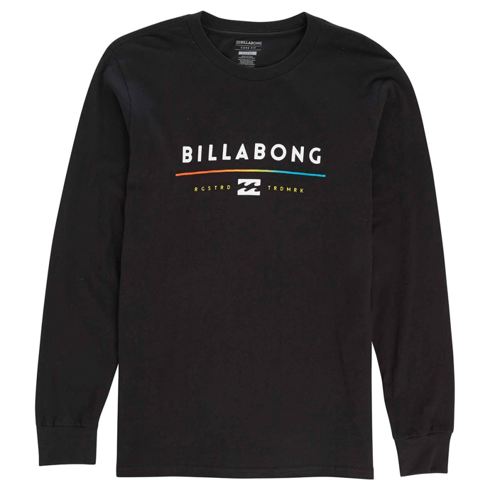 BILLABONG Guys' Tri-Unity Long Sleeve Tee - BLACK-BLK