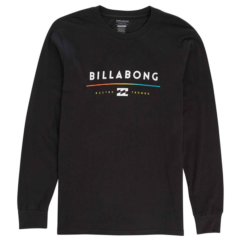 BILLABONG Guys' Tri-Unity Long Sleeve Tee - BLACK-BLK