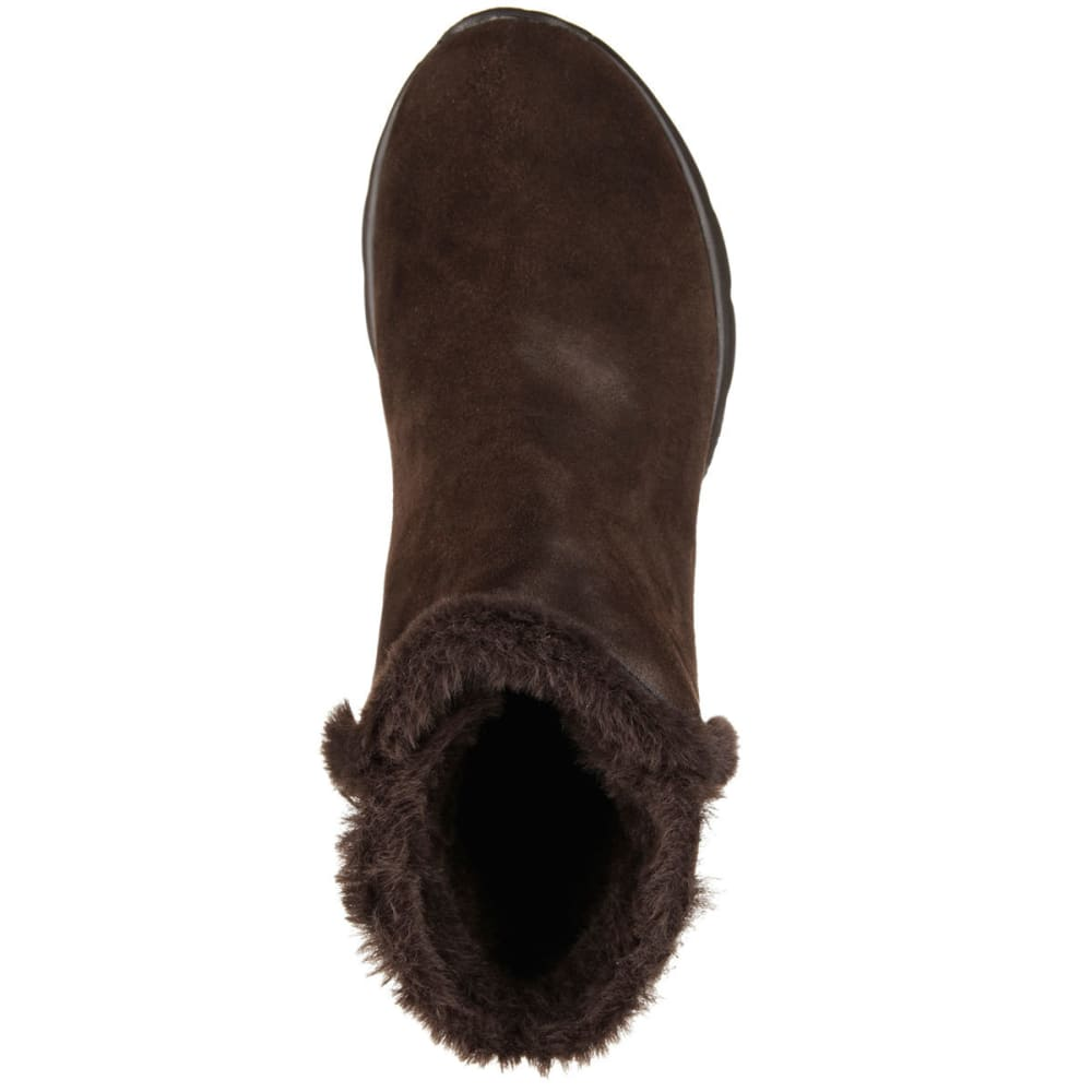 SKECHERS Women's On the Go – Chugga Boots - CHOCOLATE