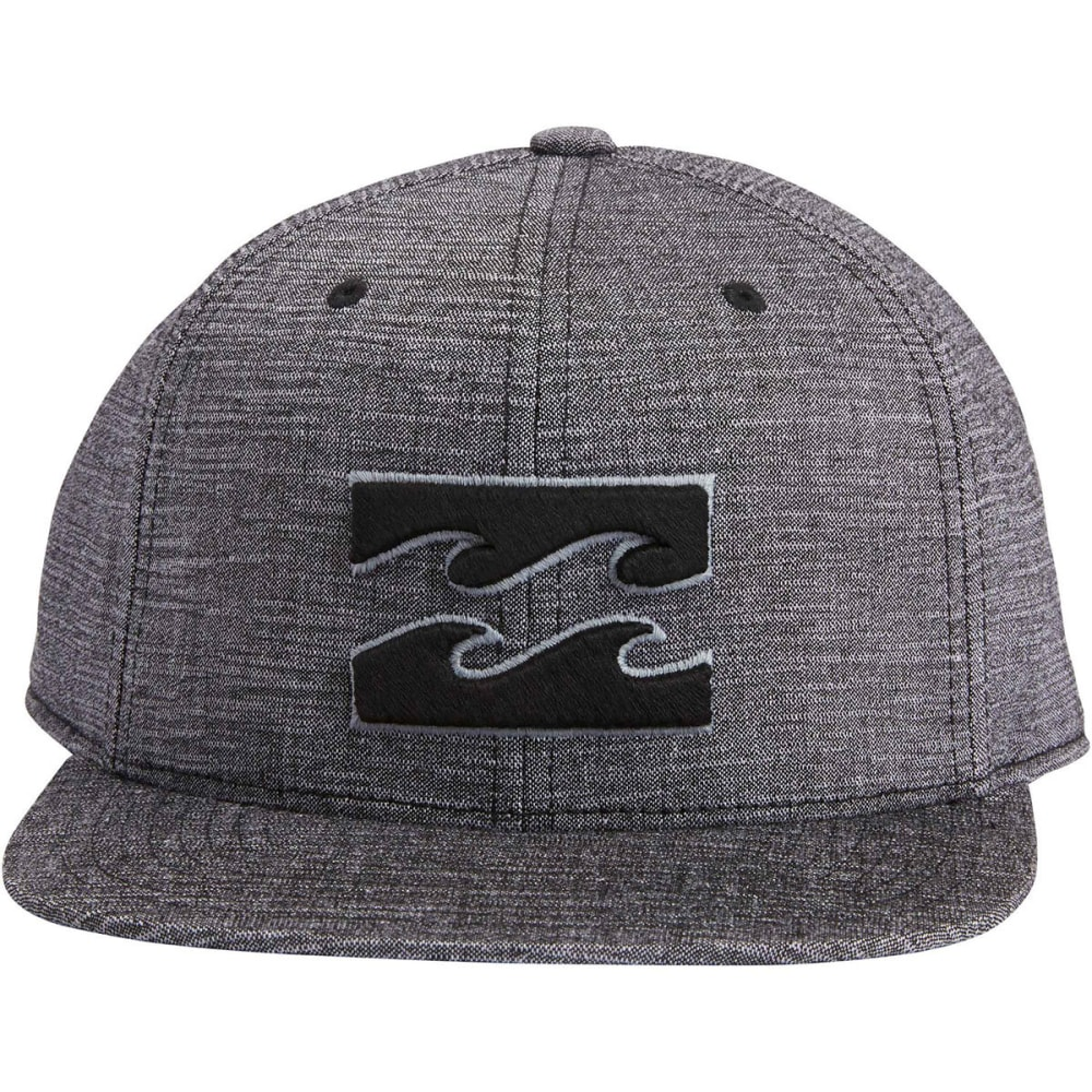 BILLABONG Guys' All Day 110 Snapback Cap - BLACK HEATHER-BKH