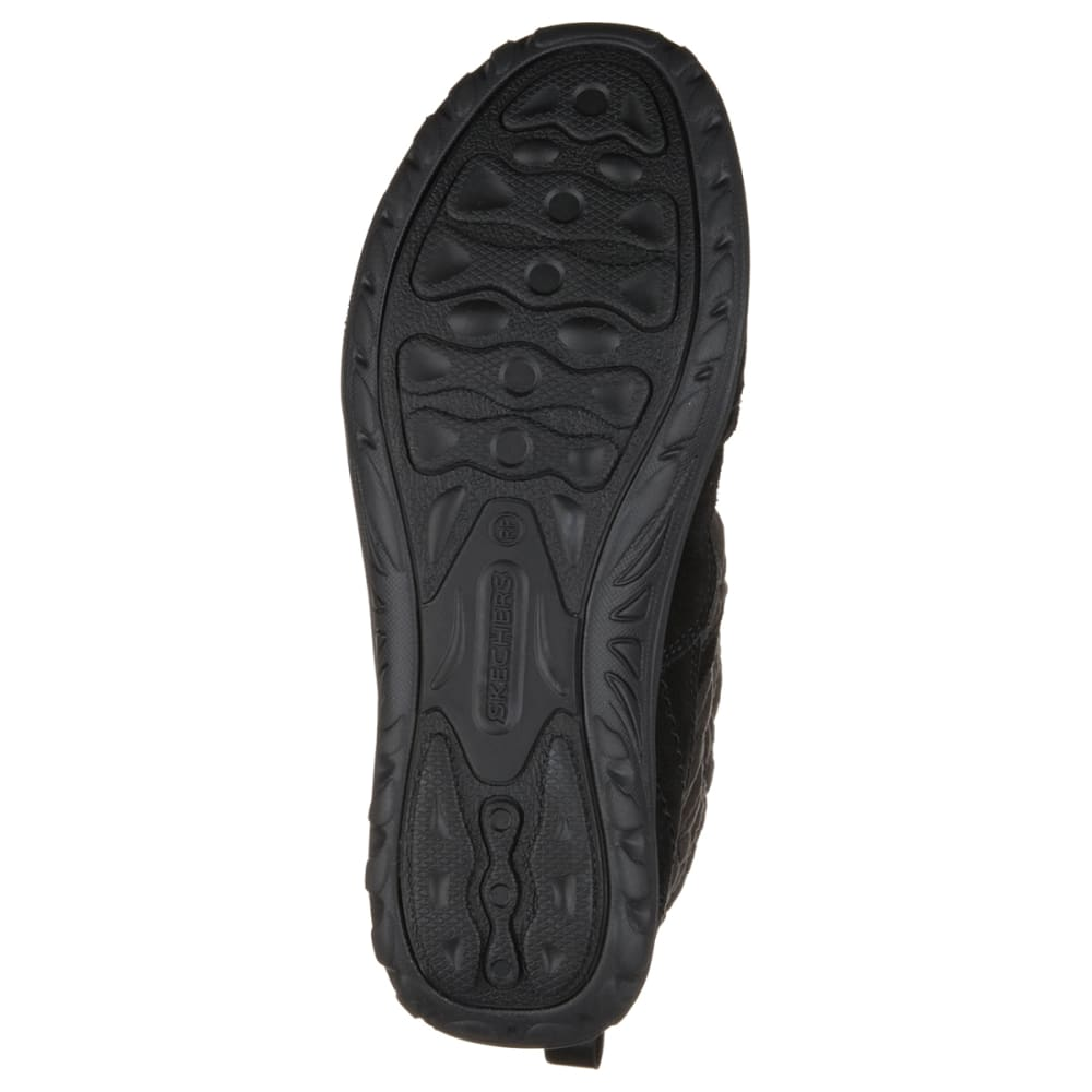 SKECHERS Women's Modern Reggae Fest Bungee Boots - BLACK