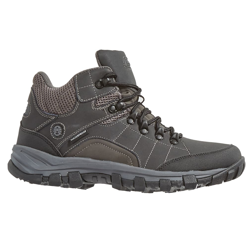 COLEMAN Men's Jasper Waterproof Hiking Boots - BLACK