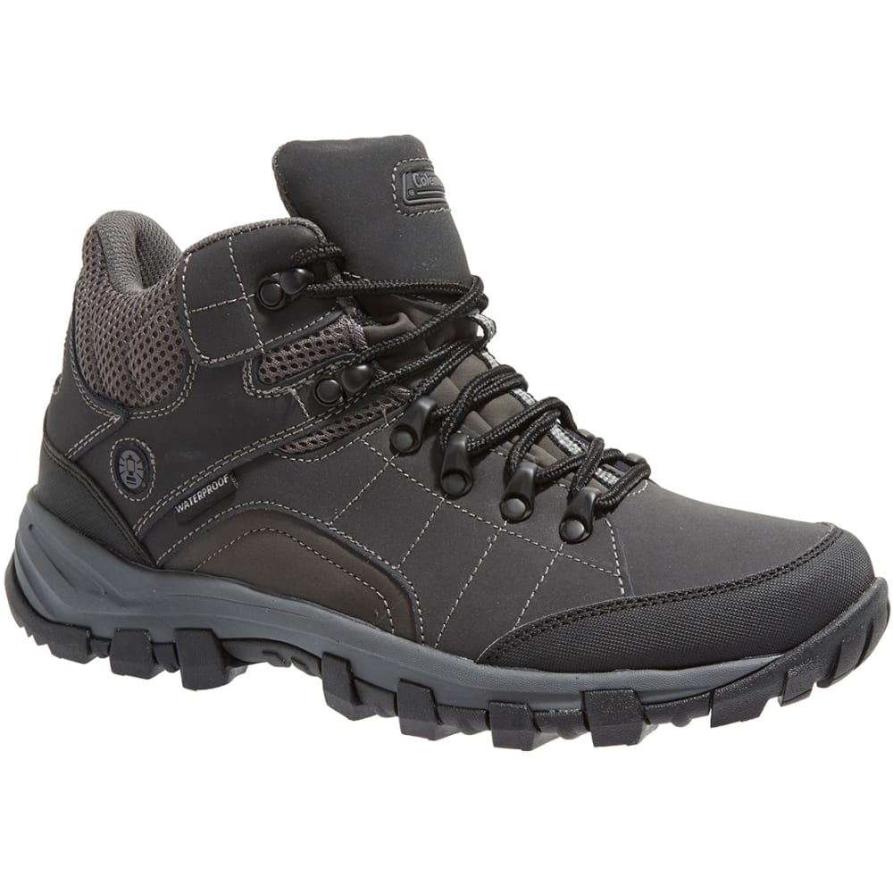 Coleman Men's Jasper Waterproof Hiking Boots - Black, 8