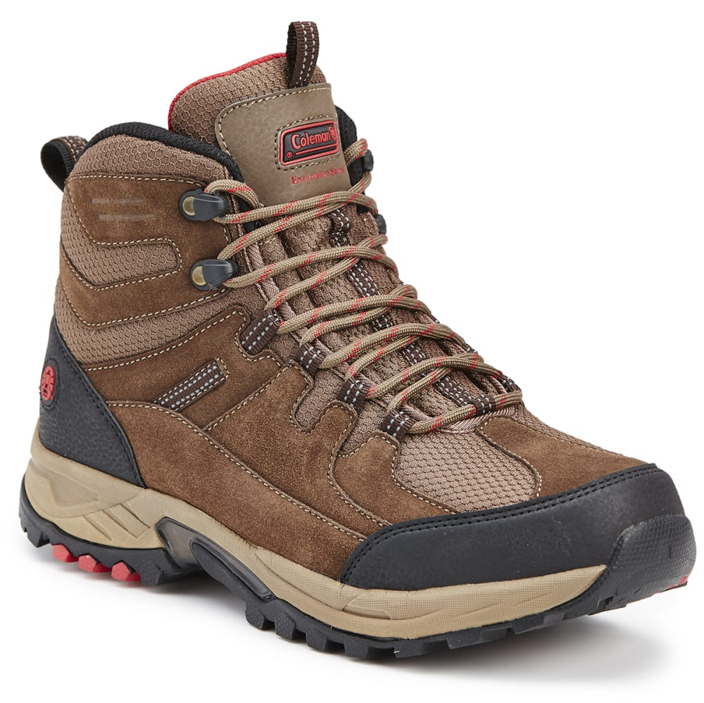 Coleman Men's Geyser Hiker Boots - Brown, 8
