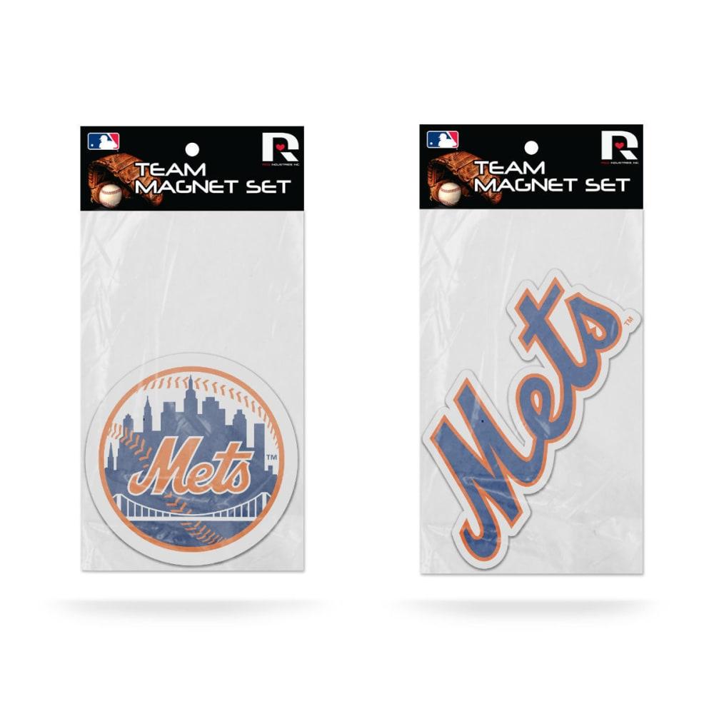 NEW YORK METS Magnet Set, 2 Pack - ASSORTED