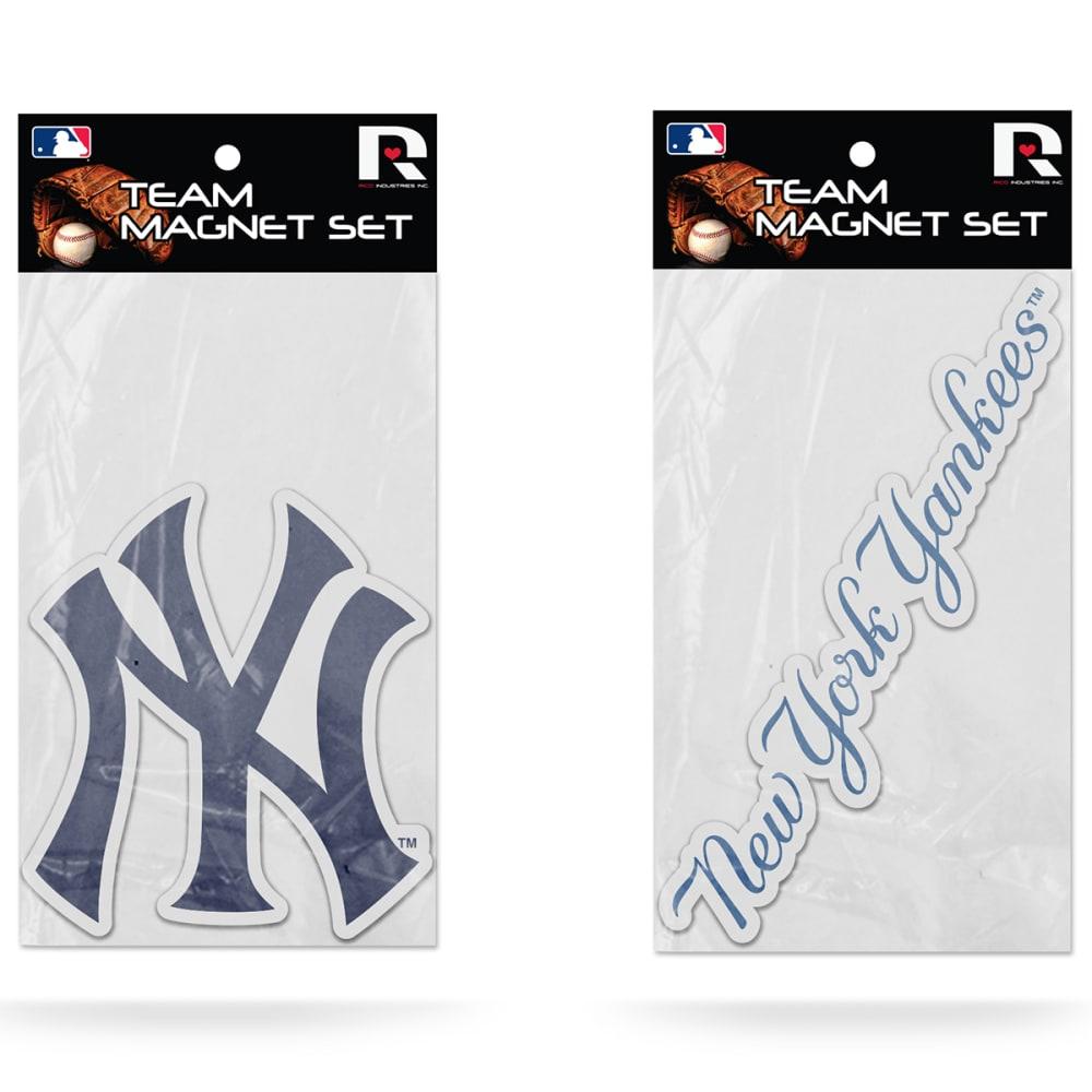 NEW YORK YANKEES Magnet Set, 2 Pack - ASSORTED