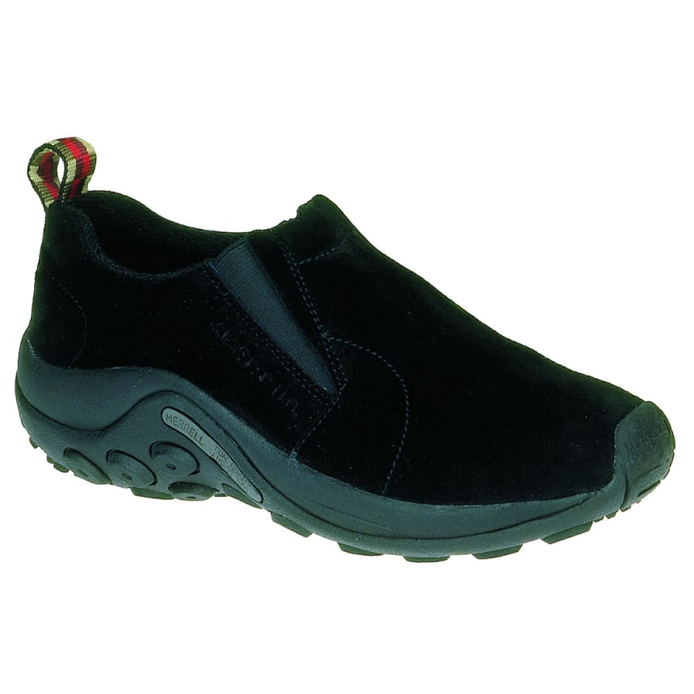 MERRELL Women's Jungle Moc Shoes, Black - MIDNIGHT