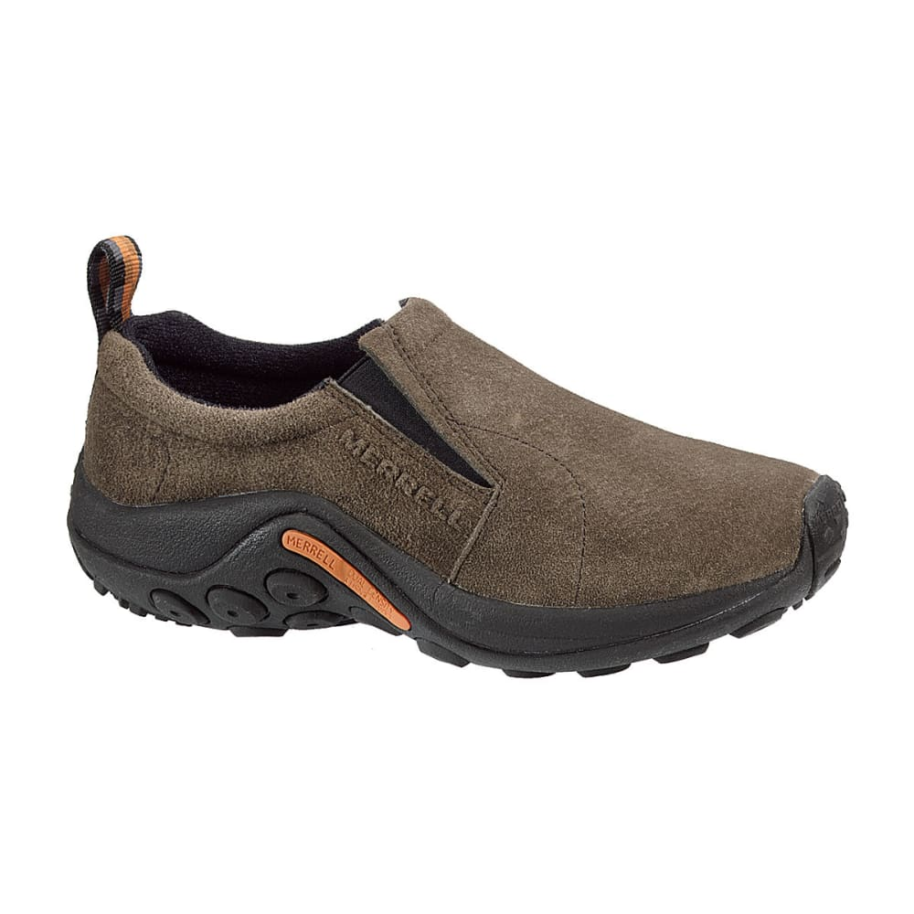 MERRELL Women's Jungle Moc Shoes, Gunsmoke - GUNSMOKE