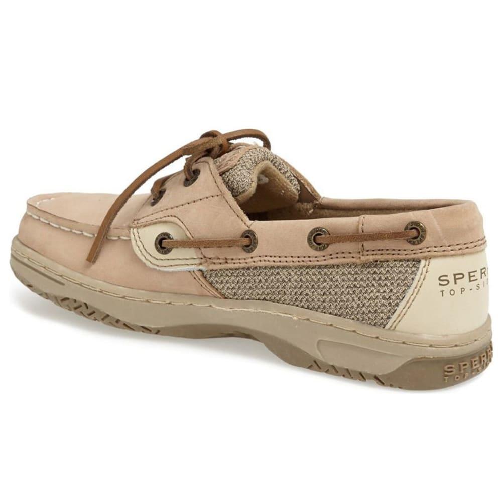 SPERRY Girls' Intrepid Boat Shoes - LINEN OAT