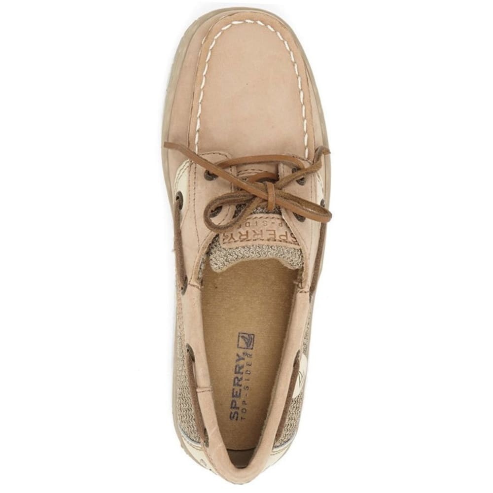 SPERRY Girls' Intrepid Boat Shoes - LINEN OAT