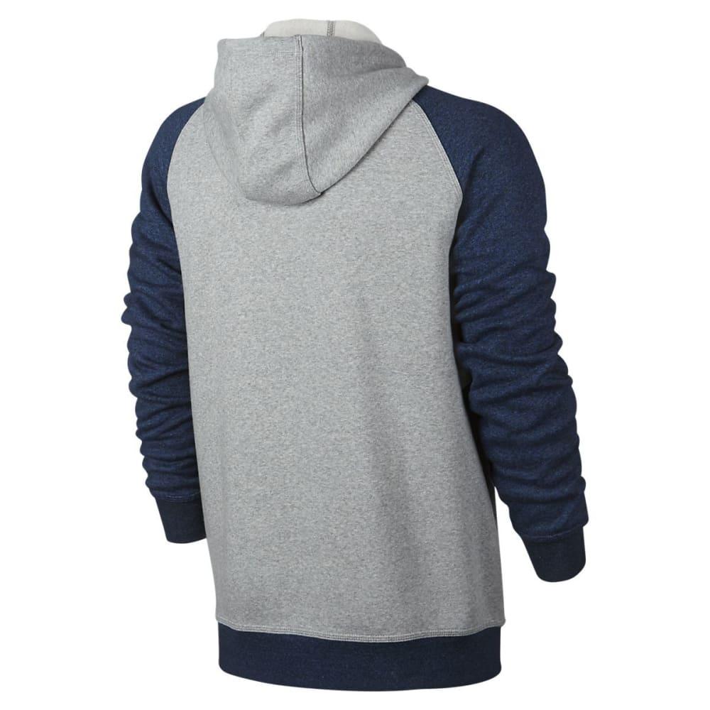 HURLEY Guys' Getaway 2.0 Fleece Full-Zip Hoodie - PURE PLATINUM-04Z