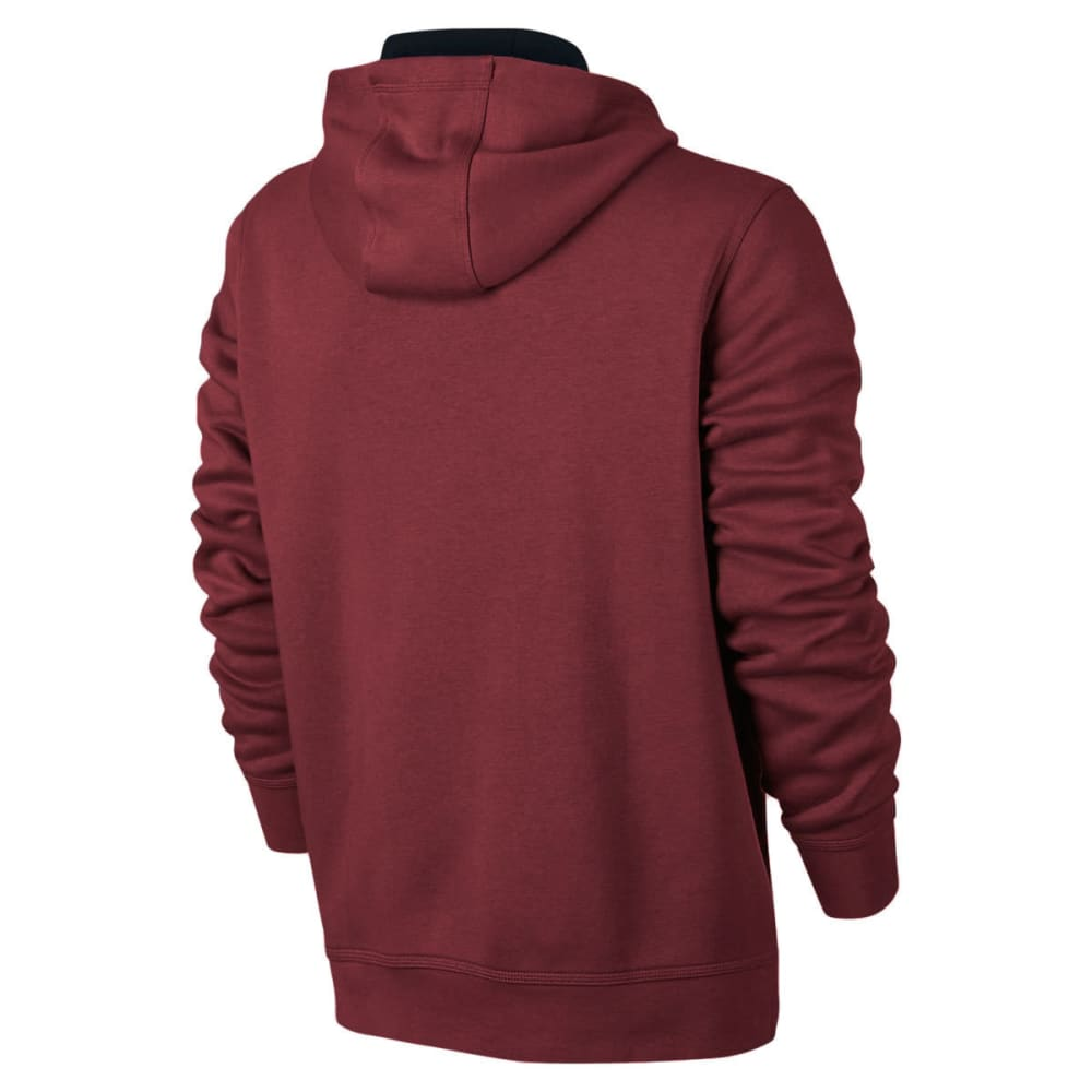 HURLEY Men's Surf Club One And Only 2.0 Pullover Hoodie - NIGHT MAROON-6BA