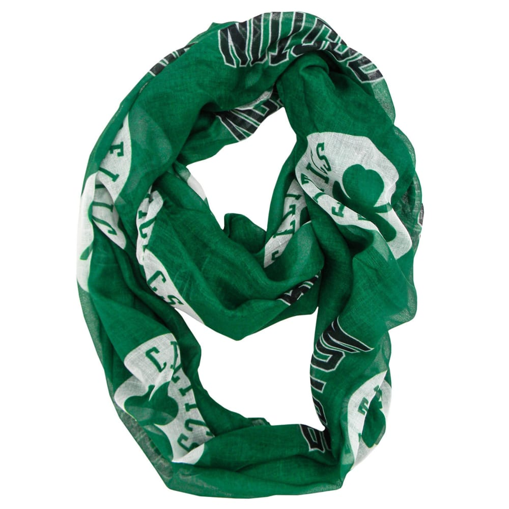 BOSTON CELTICS Women's Infinity Scarf - GREEN