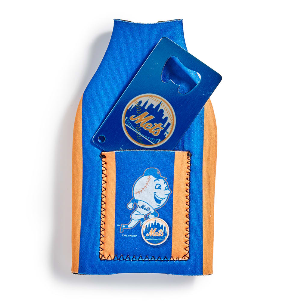 NEW YORK METS Koozie with Bottle Opener - ASSORTED