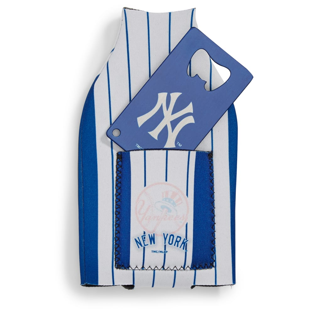 NEW YORK YANKEES Koozie with Bottle Opener - ASSORTED