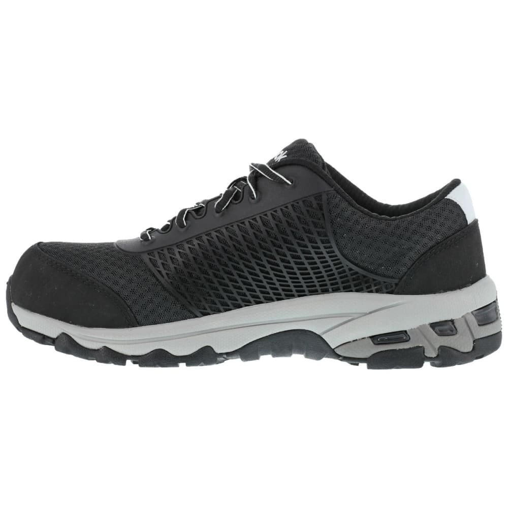 REEBOK WORK Men's Heckler Shoes, Wide - BLACK