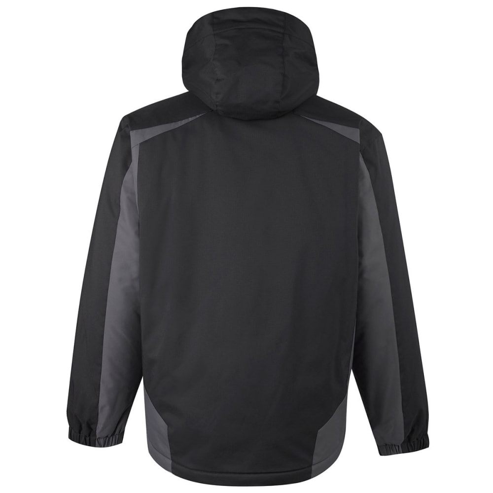 FREE COUNTRY Men's Drizzler 3-in-1 Systems Jacket - BLACK