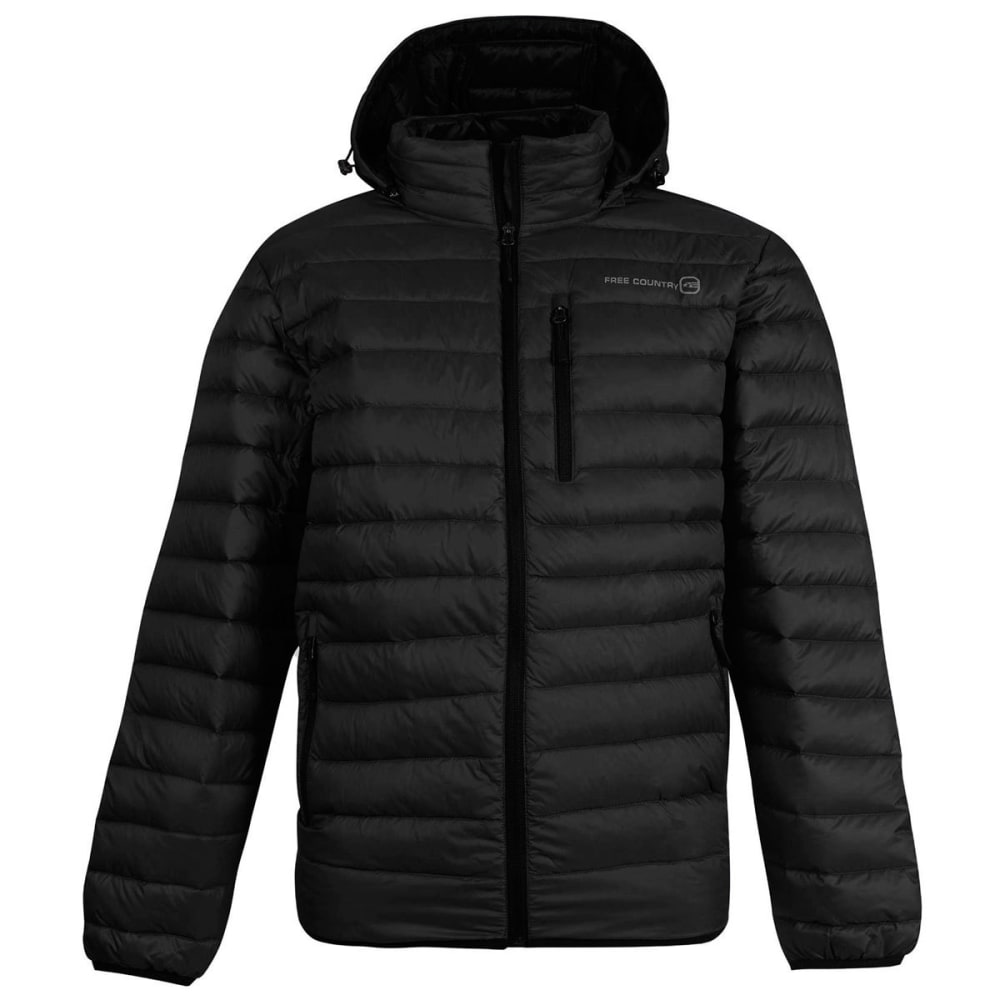 FREE COUNTRY Men's Paragon Down Puffer Jacket - BLACK