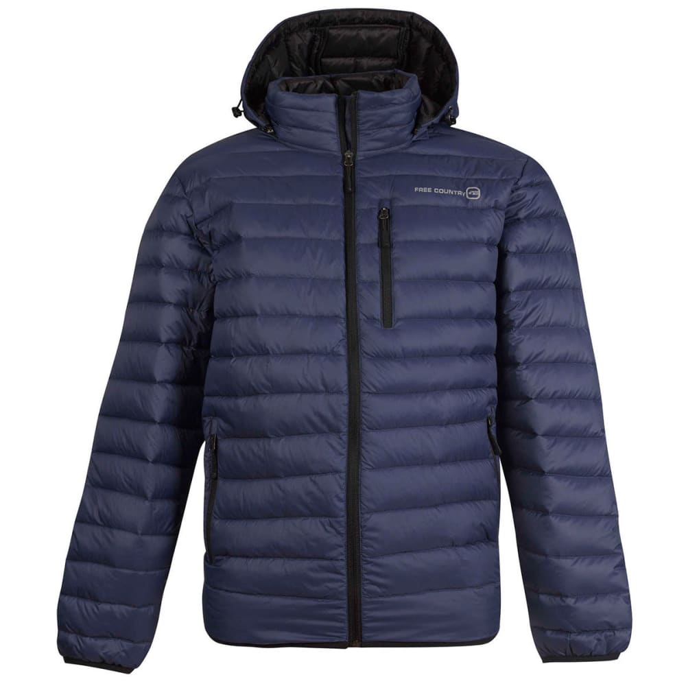 FREE COUNTRY Men's Paragon Down Puffer Jacket - NAVY