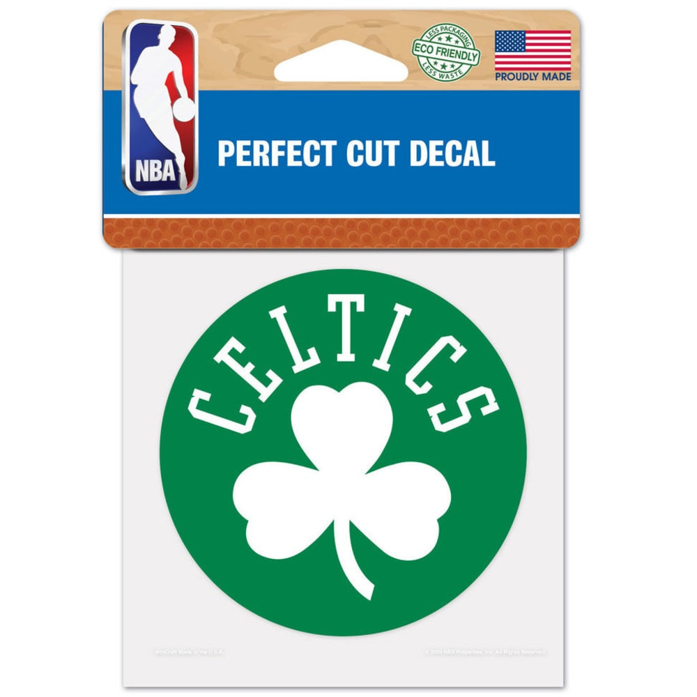 BOSTON CELTICS Perfect Cut Color Decal - ASSORTED