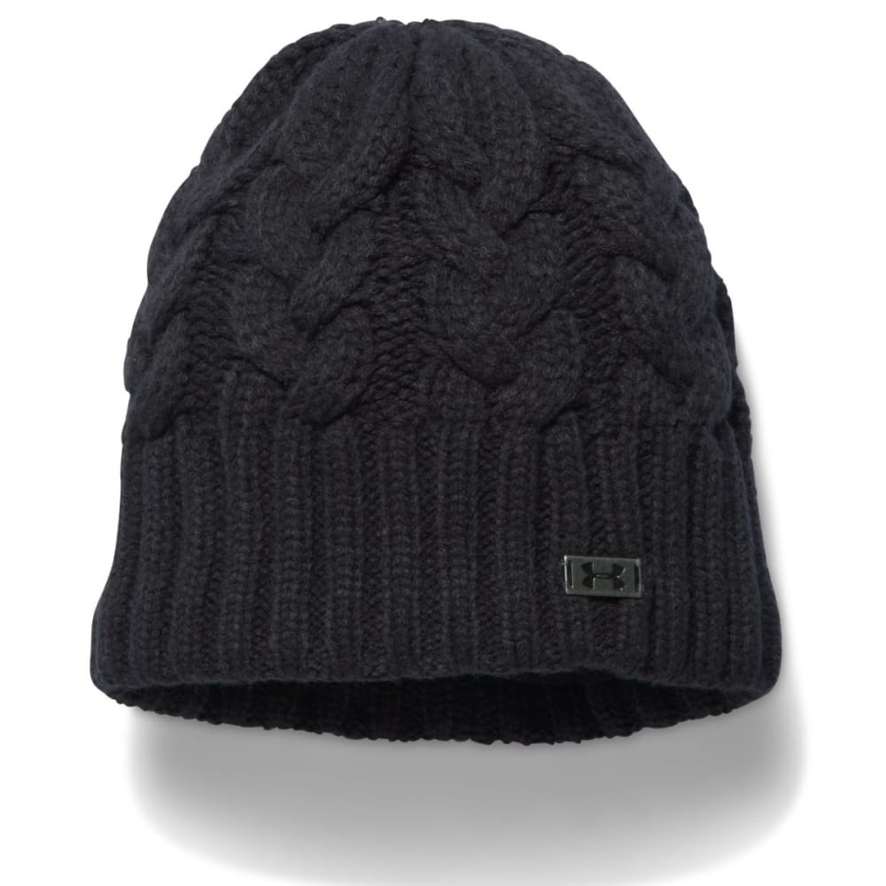 UNDER ARMOUR Women's Around Town Beanie - BLACK 001