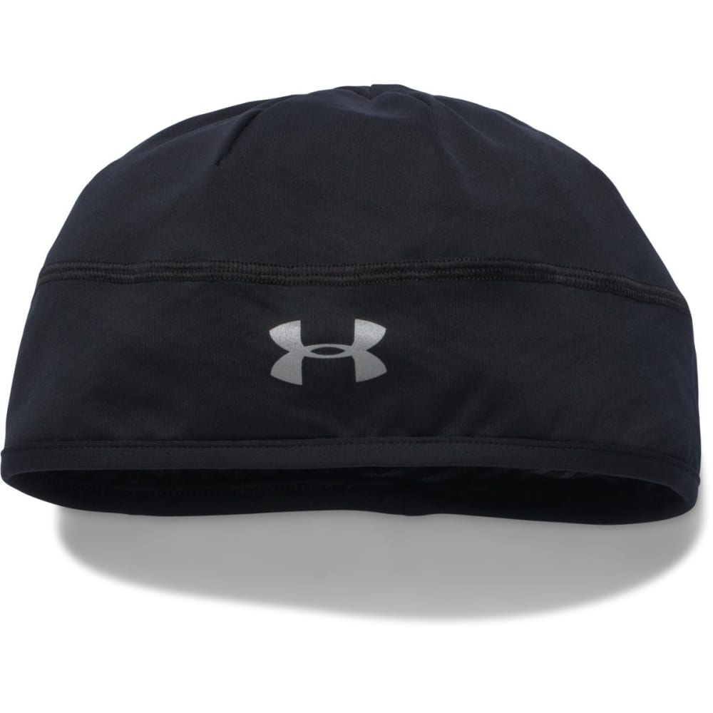 UNDER ARMOUR Women's No Breaks ColdGear Infrared Beanie - BLACK 001