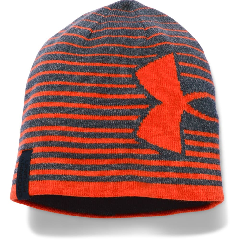 UNDER ARMOUR Boys' Billboard GITD Beanie - STEALTH HTR/VOLC 008