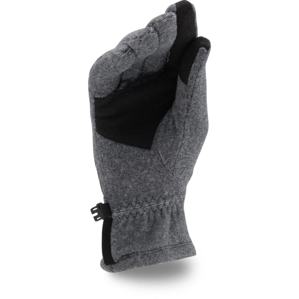 UNDER ARMOUR Boys' Youth Survivor Fleece Gloves - BLACK 001
