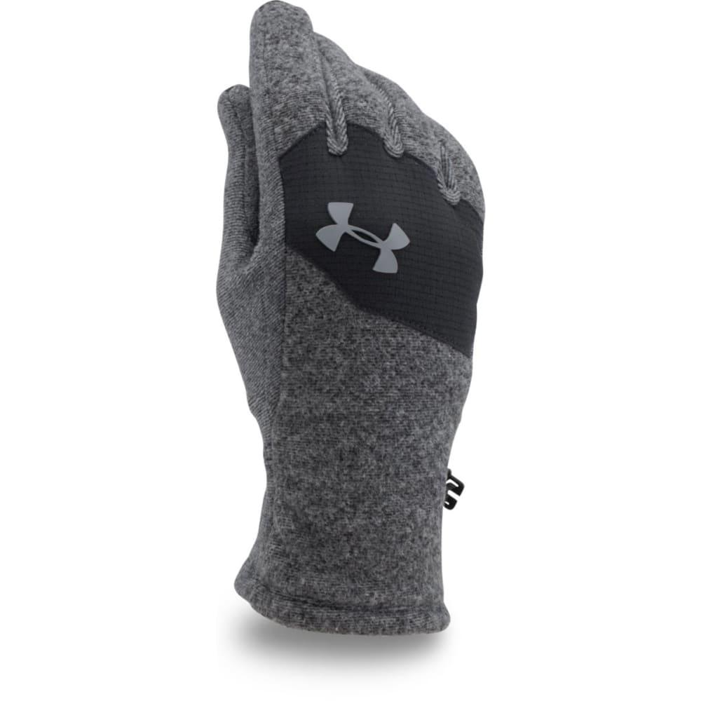 UNDER ARMOUR Boys' Youth Survivor Fleece Gloves - BLACK 001