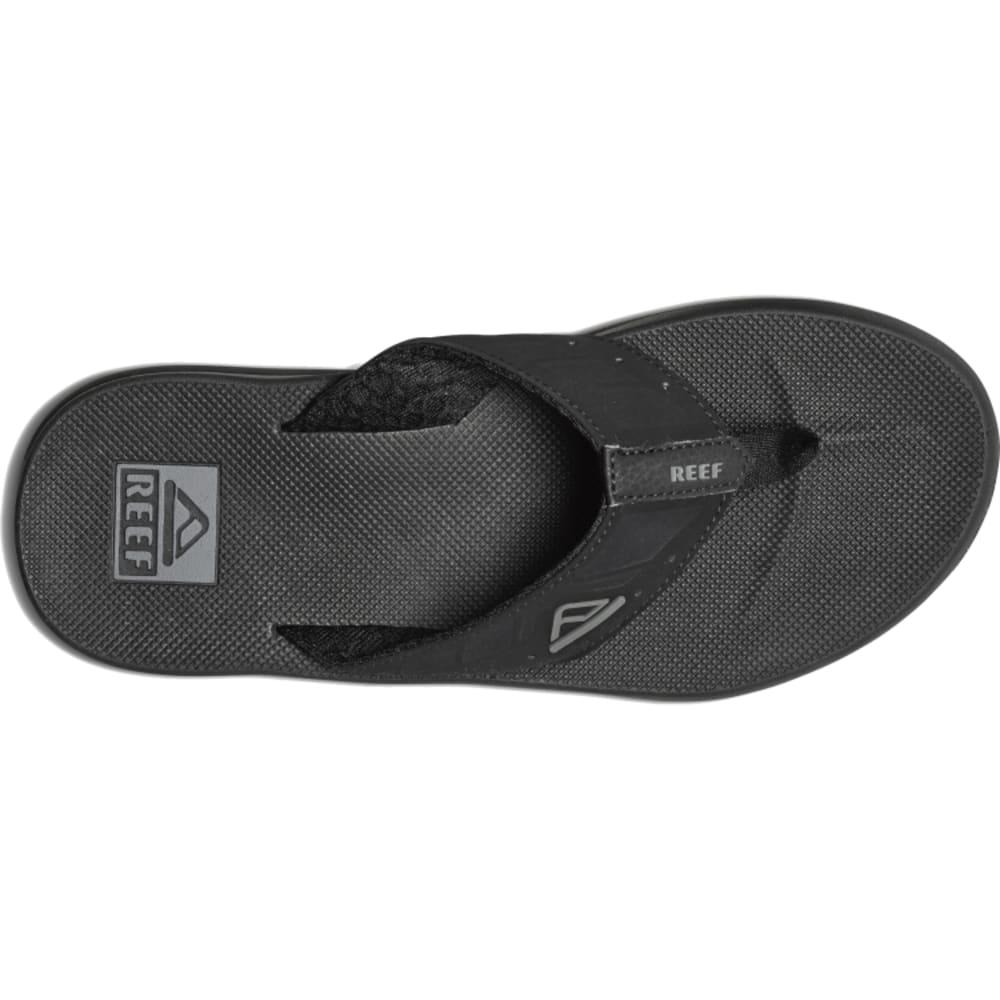 REEF Men's Phantoms Sport Sandals, Black - BLACK