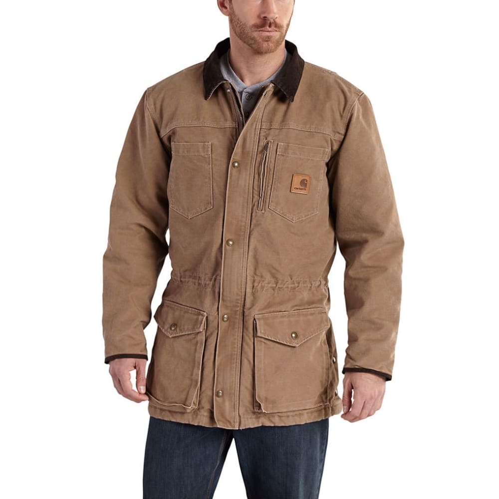 Carhartt Men's Canyon Coat - Brown, M