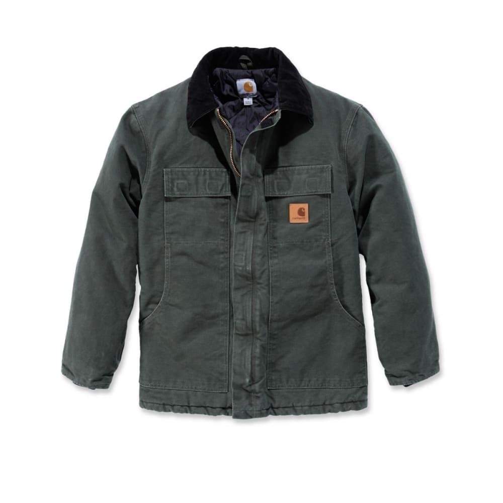 CARHARTT Men's Sandstone Traditional Arctic Quilt-lined Coat XS