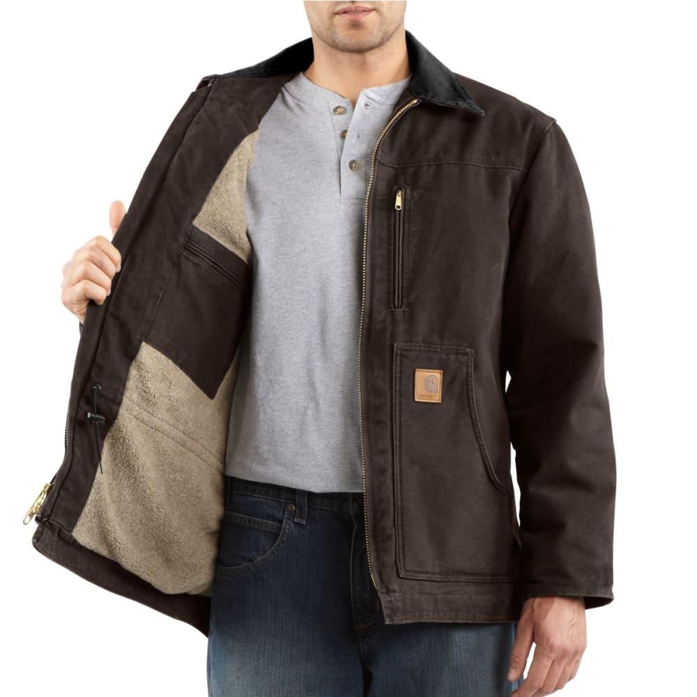 CARHARTT Men's Ridge Coat - DARK  BROWN