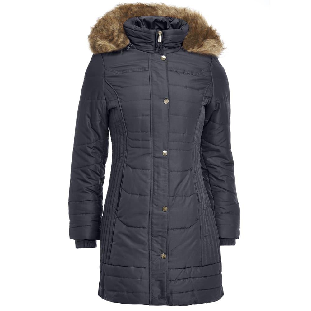 DETAILS Women's 35 in. Puffer Jacket - BLACK