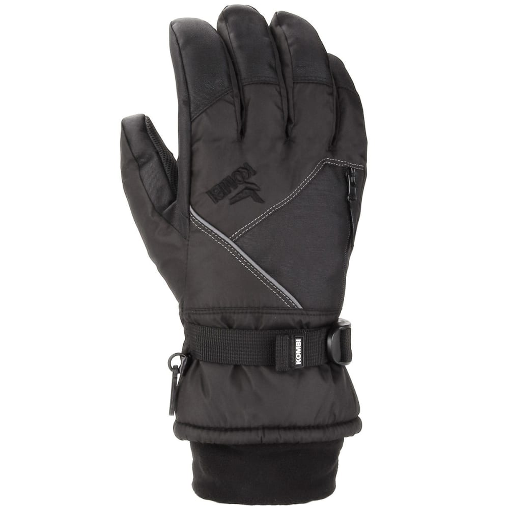 KOMBI Boys' Pursuit II Jr. Ski Gloves - BLACK