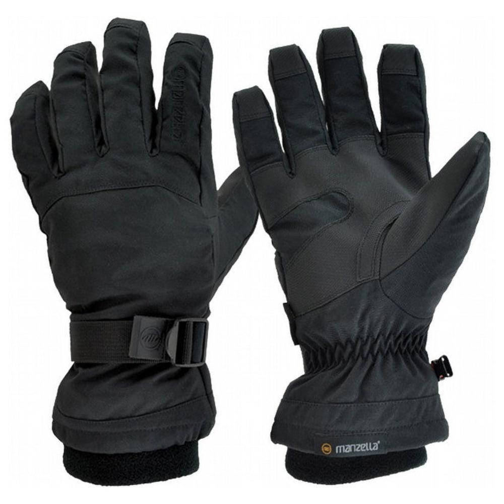 MANZELLA Men's Gore-Tex Stealth II Gloves - BLACK