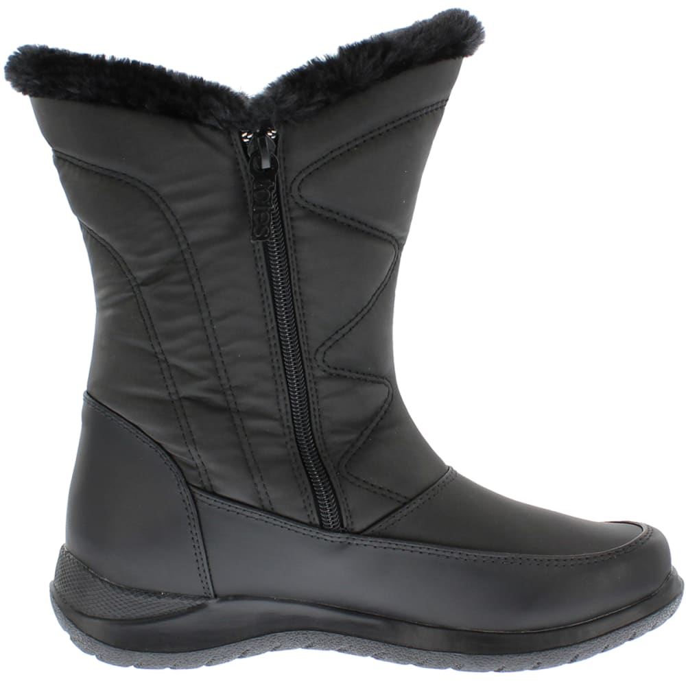 TOTES Women's Catharine Boots - BLACK