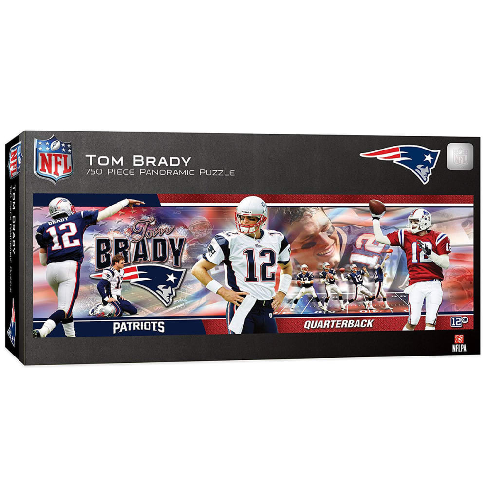 NEW ENGLAND PATRIOTS 750-Piece Tom Brady Masterpiece Puzzle - ASSORTED