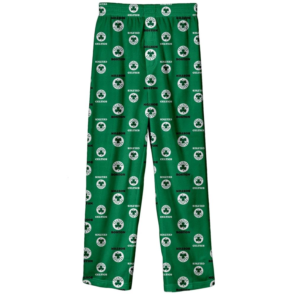 BOSTON CELTICS Boys' Lounge Pants - GREEN