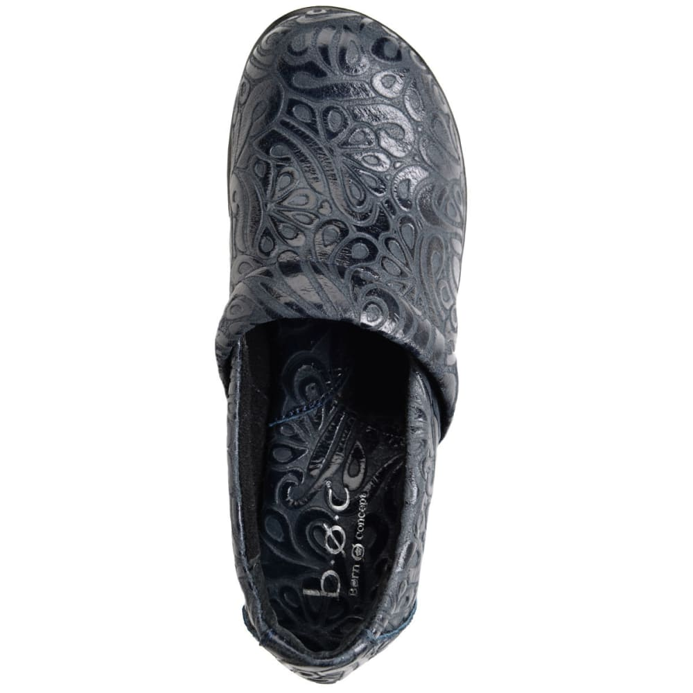 BOC Women's Nadiyya Tooled Clogs - NAVY