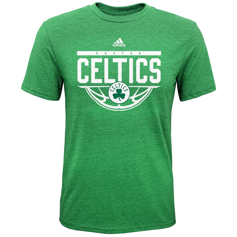 BOSTON CELTICS Boys' Balled Out Short-Sleeve Tee - GREEN