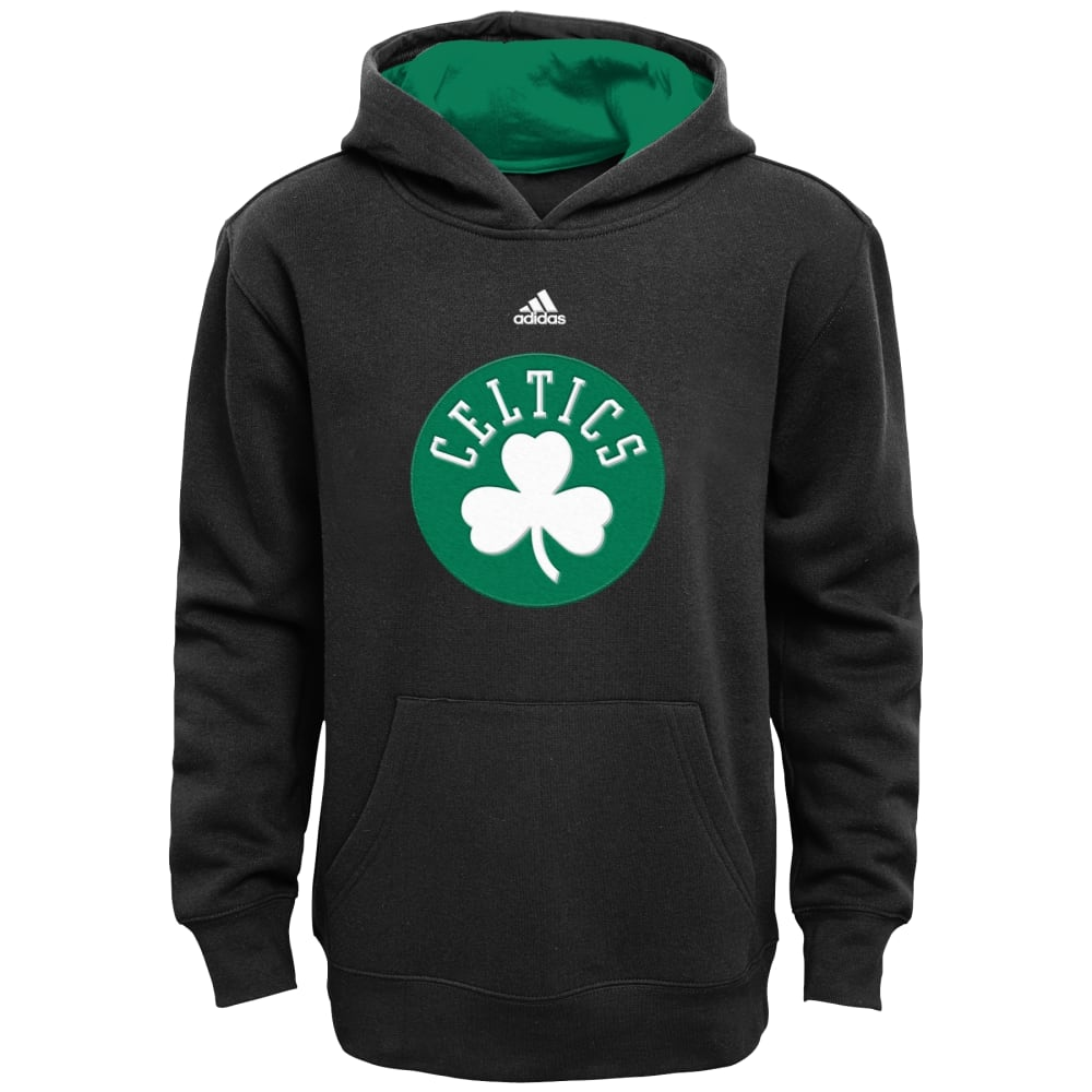 BOSTON CELTICS Boys' Primary Hoodie - BLACK