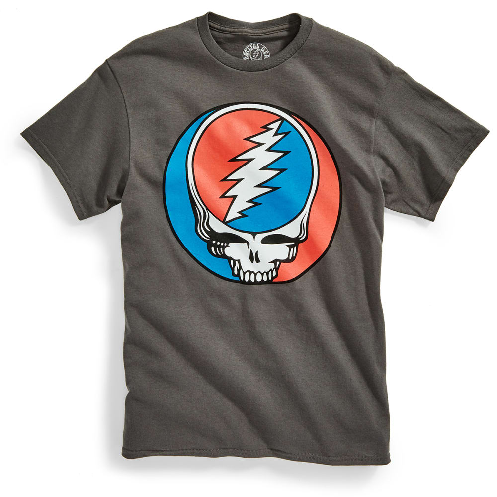 D55 Guys' Grateful Dead Yer Face Short-Sleeve Tee - CHARCOAL