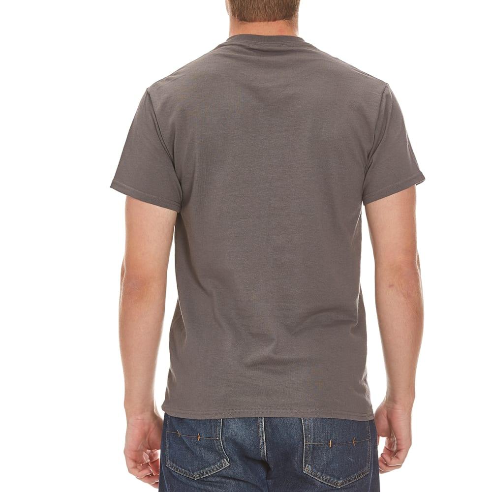 HYBRID Guys' Ghostbusters Modern Logo Shirt - CHARCOAL