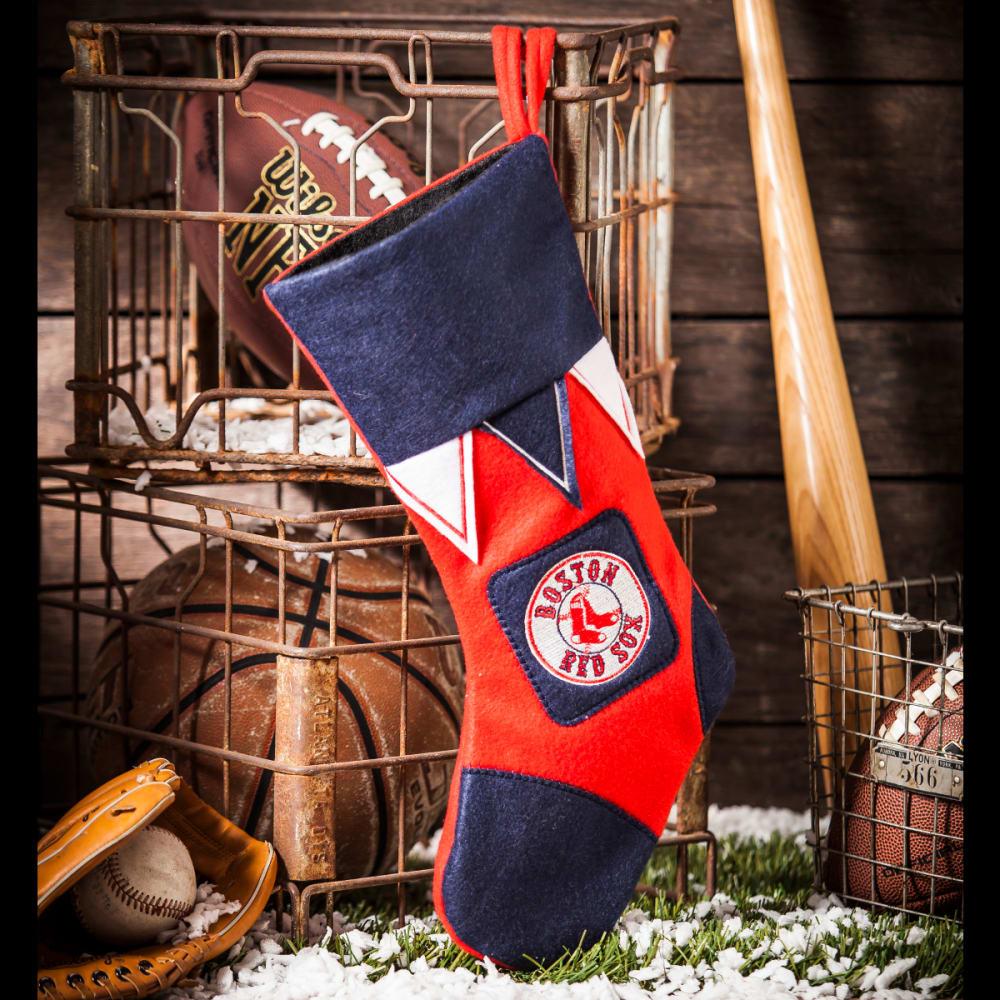 BOSTON RED SOX Holiday Stocking - MULTI