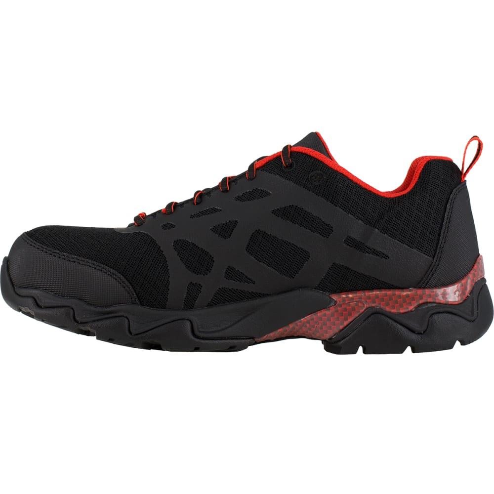 REEBOK WORK Men's Beamer Shoes - BLACK/RED TRIM