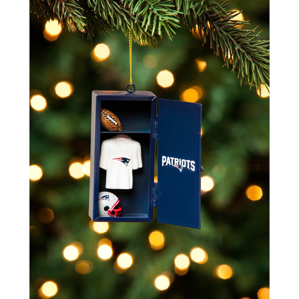 NEW ENGLAND PATRIOTS Locker Room Ornament - NAVY
