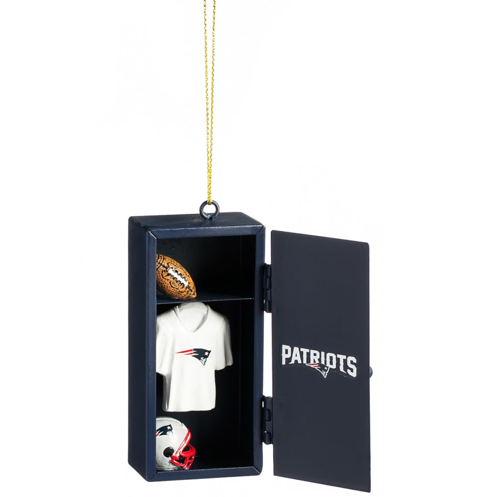 NEW ENGLAND PATRIOTS Locker Room Ornament - NAVY