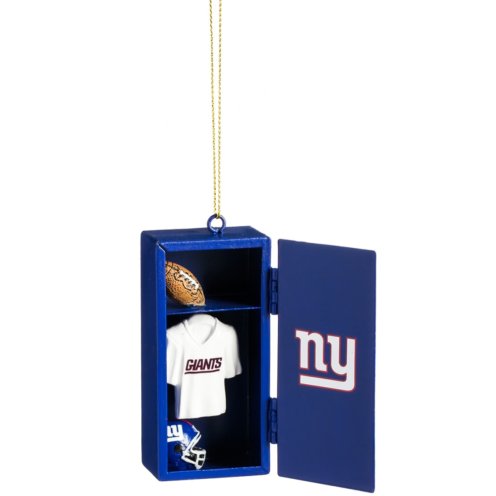 NEW YORK GIANTS Locker Room Ornament - ROYAL BLUE