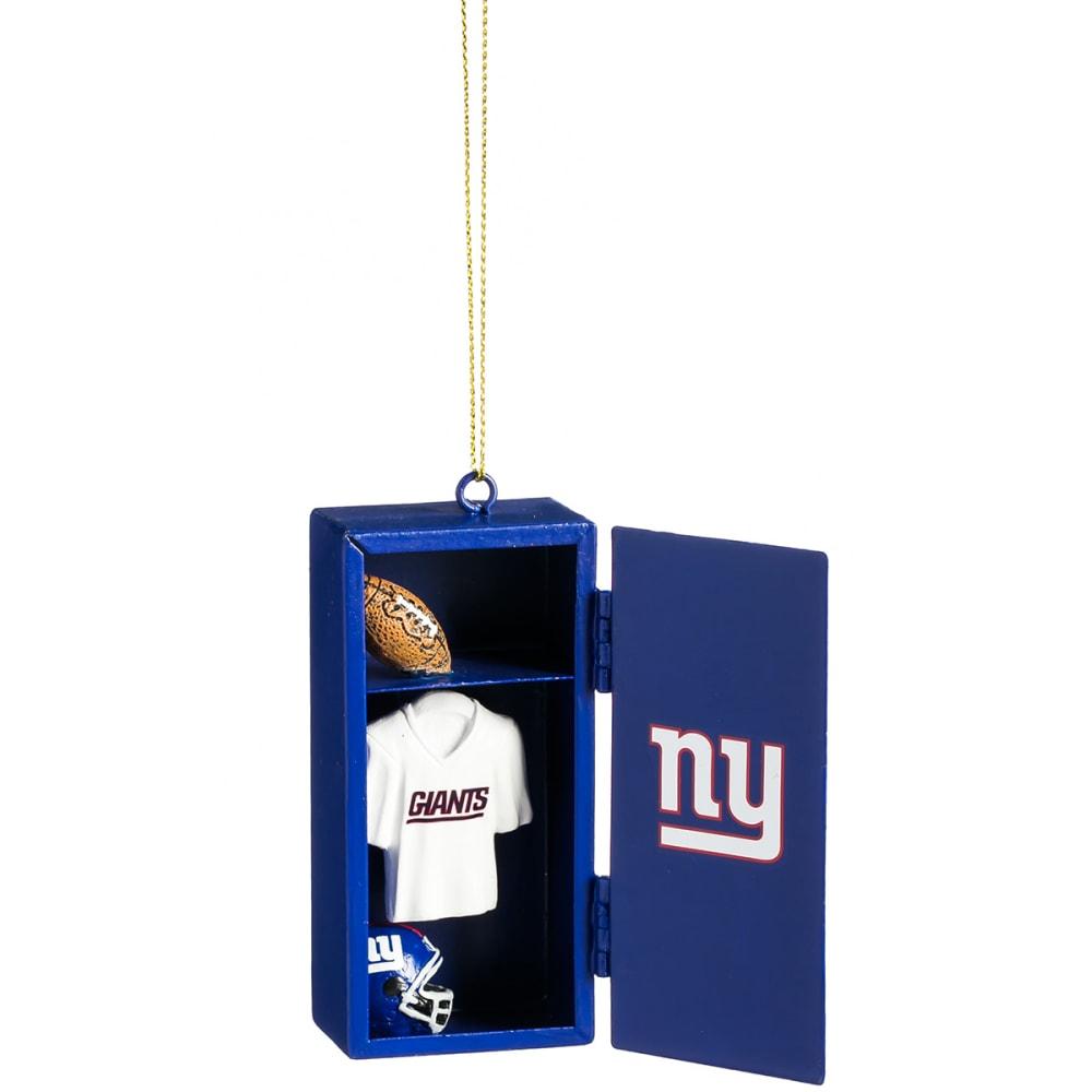NEW YORK GIANTS Locker Room Ornament - ROYAL BLUE